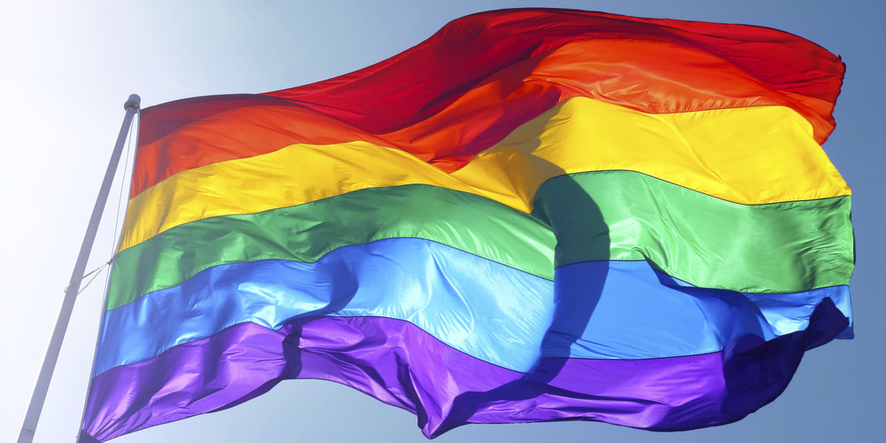 Rainbow Pride Flag. Photo Credit: NKTWENTYTHREE via GETTY IMAGES.
