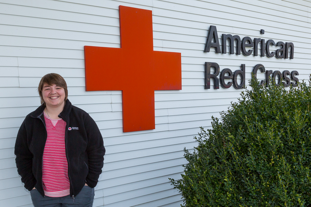 Hope Roaten, Red Cross Disaster Program Manager. Photo Credit: American Red Cross Central Pennsylvania Region.
