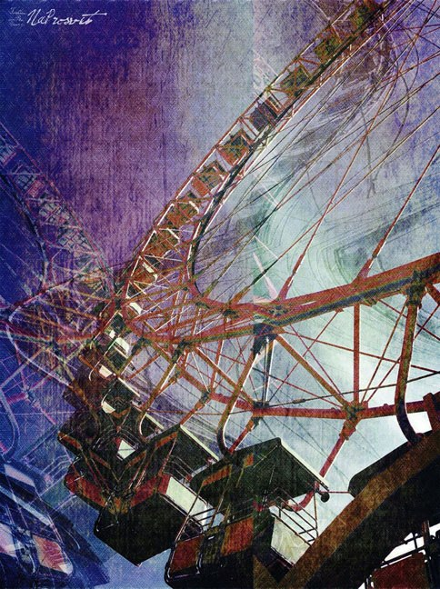 """I SEE NOTHING IN SPACE AS PROMISING AS THE VIEW FROM A FERRIS WHEEL. ~ E. B. WHITE """