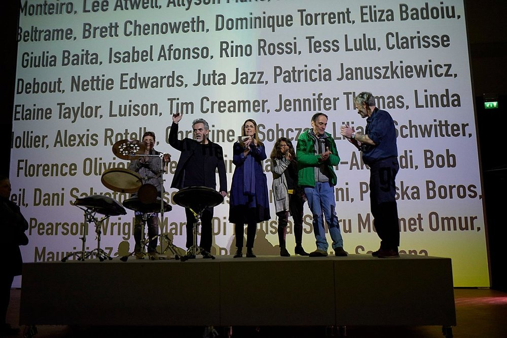 "FIRST EDITION ""EQUINOX"" - SANTO STEFANO AL PONTE - FLORENCE MARCH 12 2017 (Let to right Liliana Schwitter, Marco Testoni, Linda Hollier, Isabel Afonso, Gianluca Ricoveri and Andrea Bigiarini)"