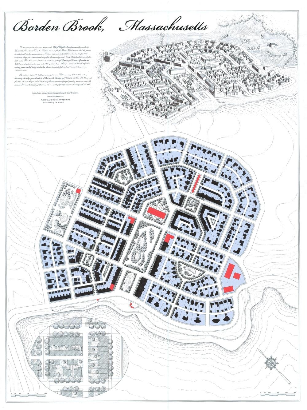 Self-sustaining New Urbanism community