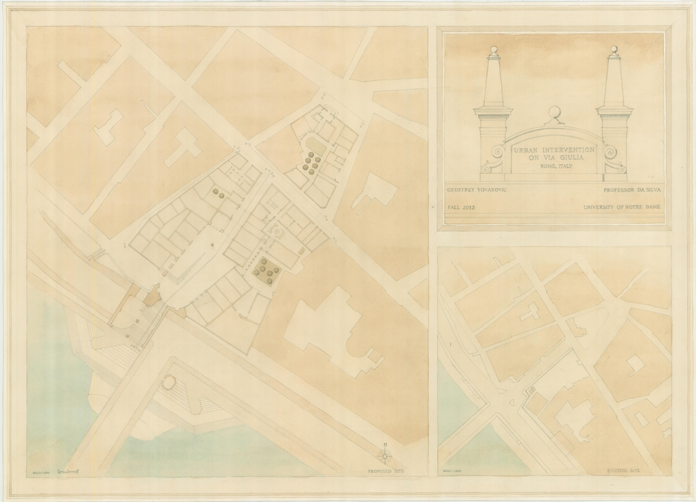 Existing and Proposed Site Plans
