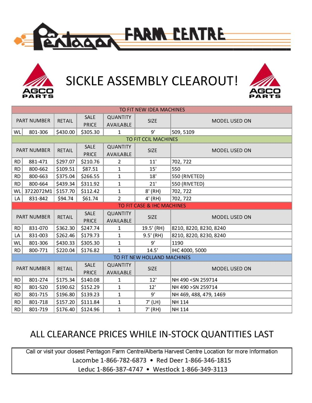 December 2017 Clearance Sickle Assemblies Page 2.jpgDecember 2017 Clearance Sickle Assemblies Page 2