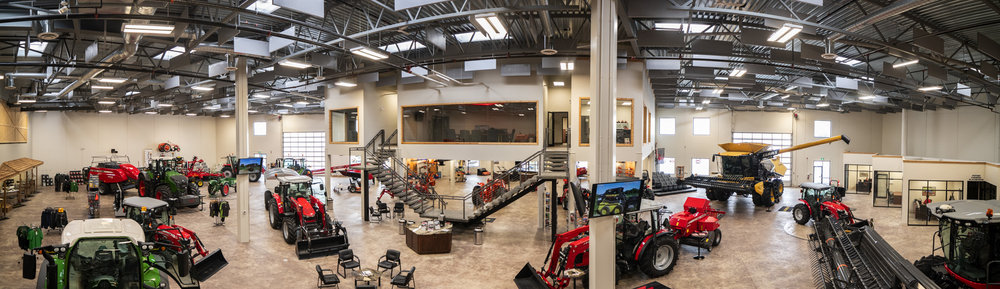 Pentagon Farm Centre/Alberta Harvest Centre - Lacombe, AB Showroom