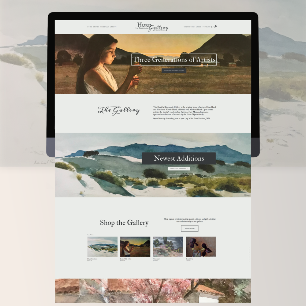 web design - create a space to tell your story