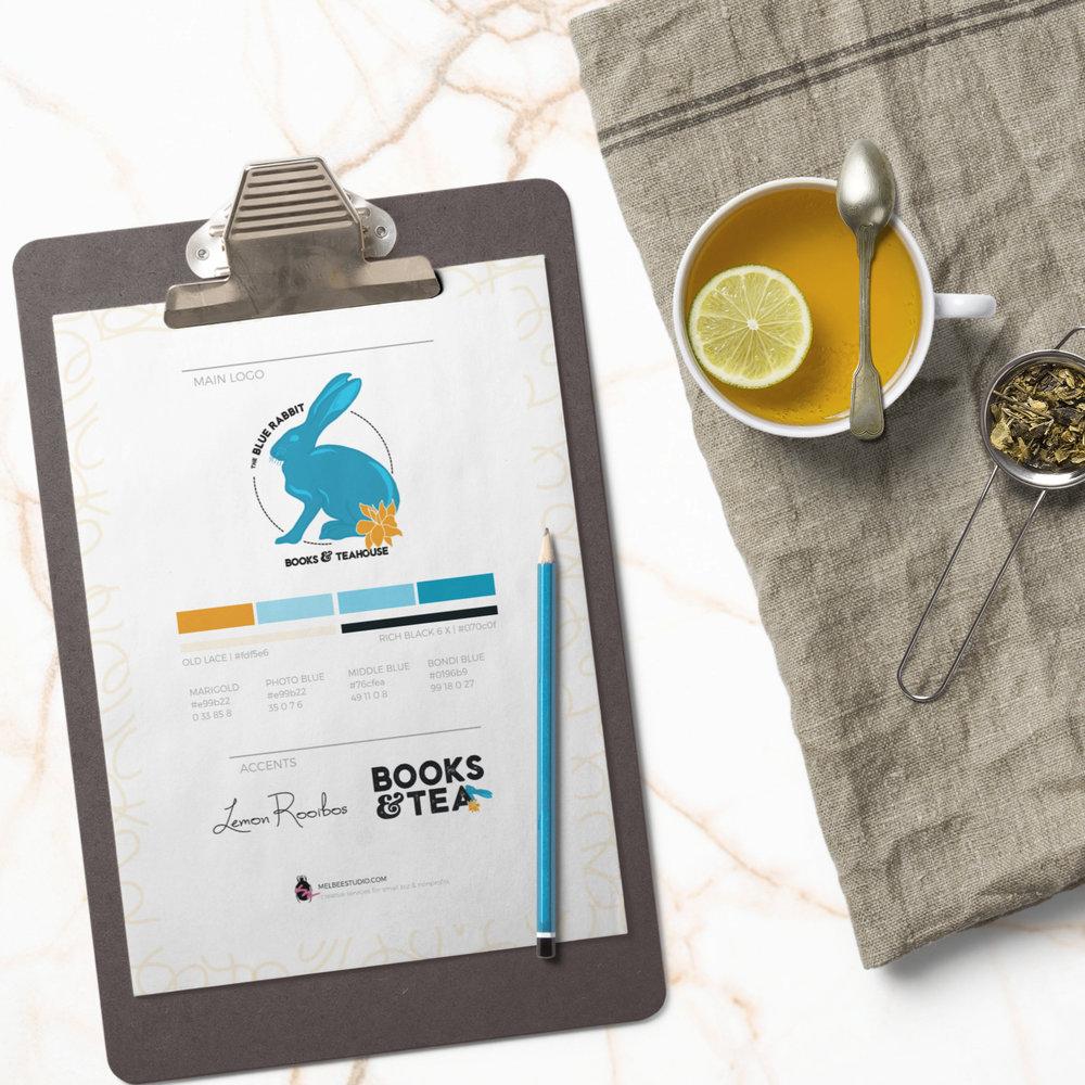 Blue Rabbit - Branding + Product Design
