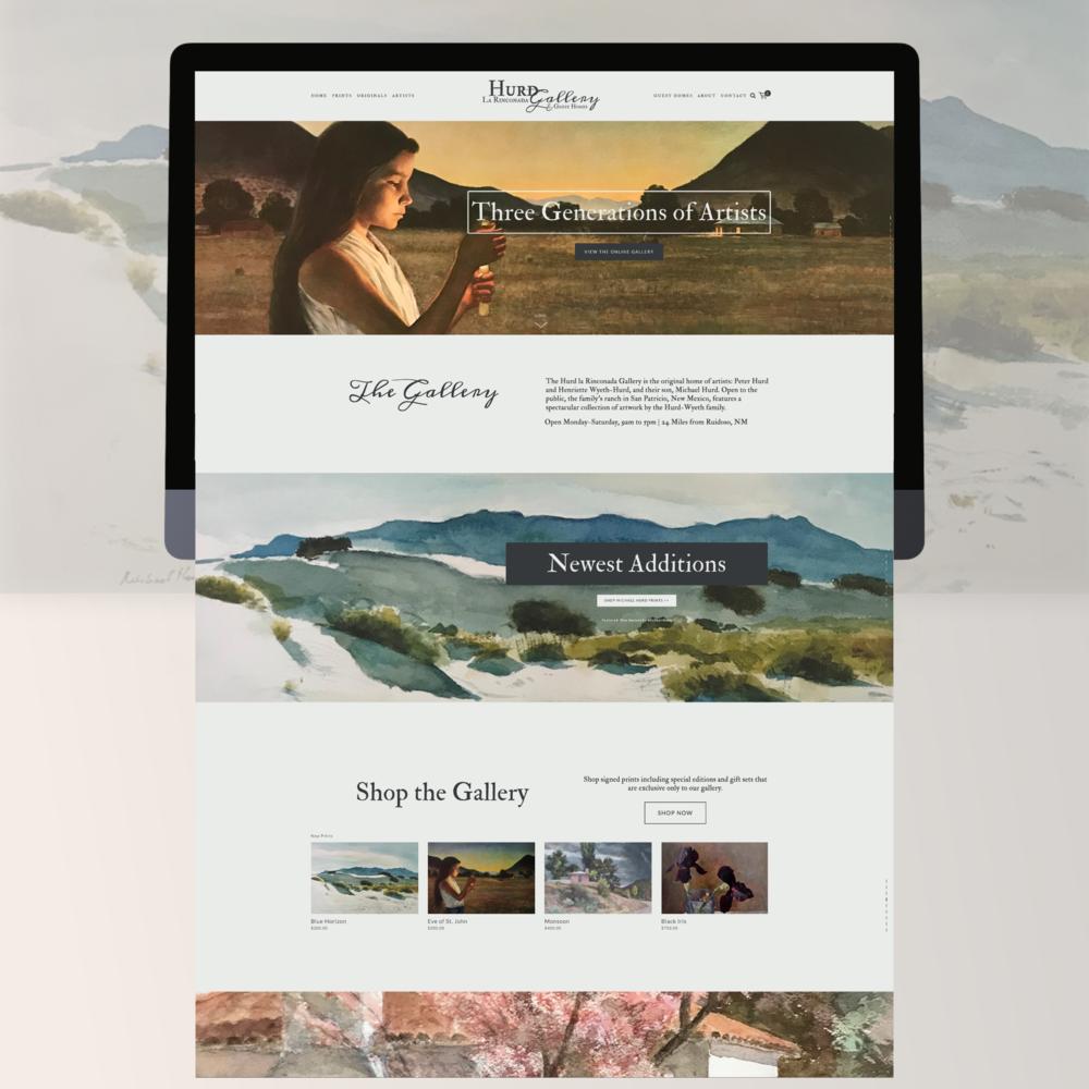 Web design + eCommerce