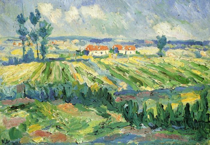 Fields,  Kazimir Malevich, 1878 - 1935