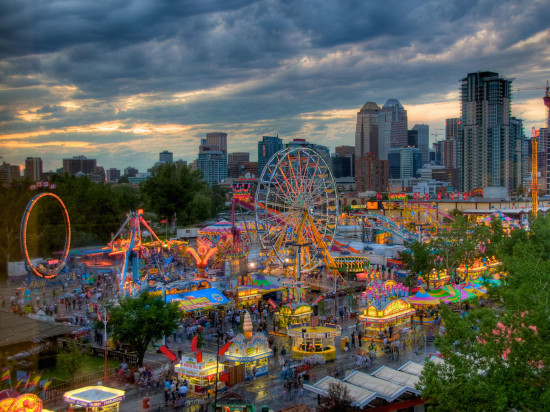 Midway at the Calgary Stampede (Photo: Calgary Stampede blog)