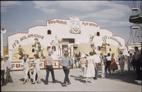 Calgary Stampede midway circa 1959 (Photo: Calgary Public Library)