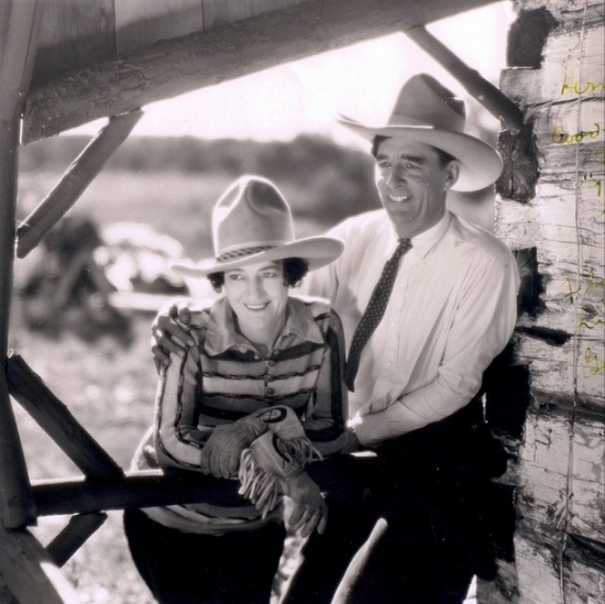 Another pair of storied Calgary lovers: Florence Ladue & Guy Weadick (Photo: Calgary Stampede)