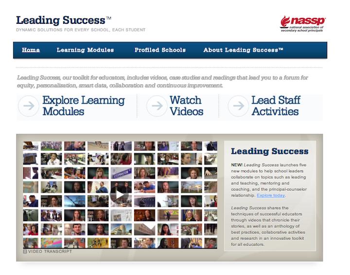 Sample screenshot of the main page.