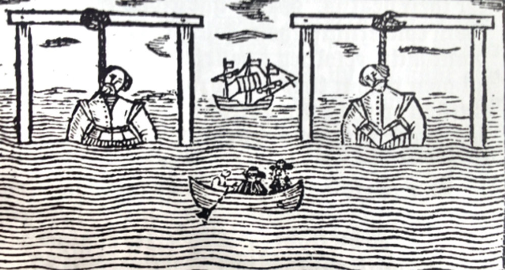 Pirates of stage and sea: Jacobean theater and the fate of two sea dogs
