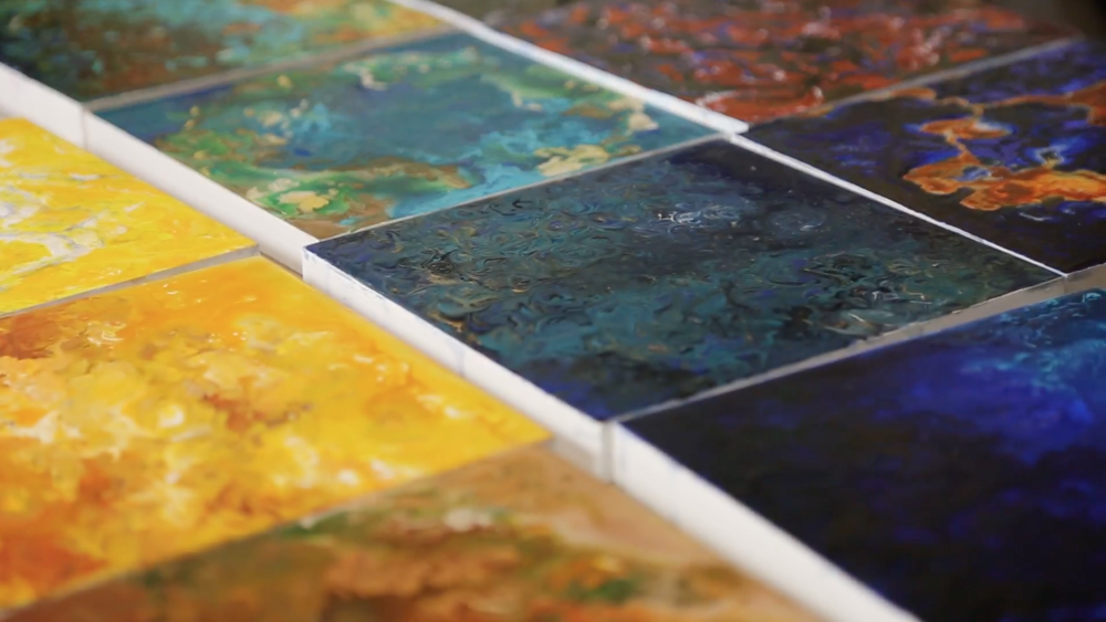 Splash of color: The 'joy' of making 365 paintings in a year