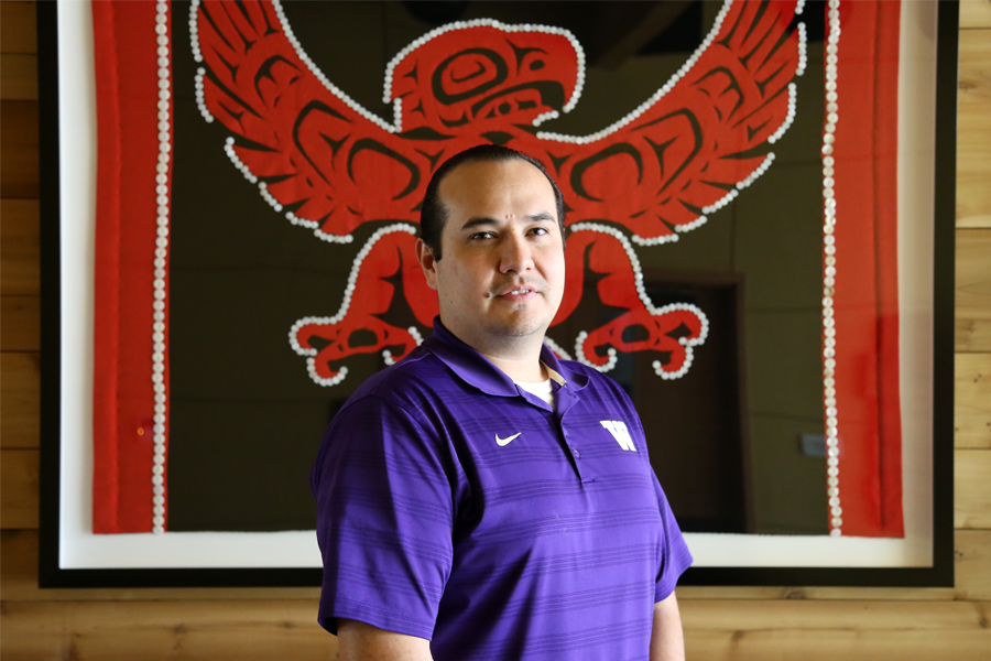 UW tribal liaison imparts lessons of sovereignty, success