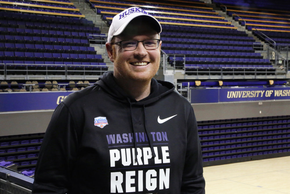 UW Spirit head coach Kenny Dow has a lot to cheer for