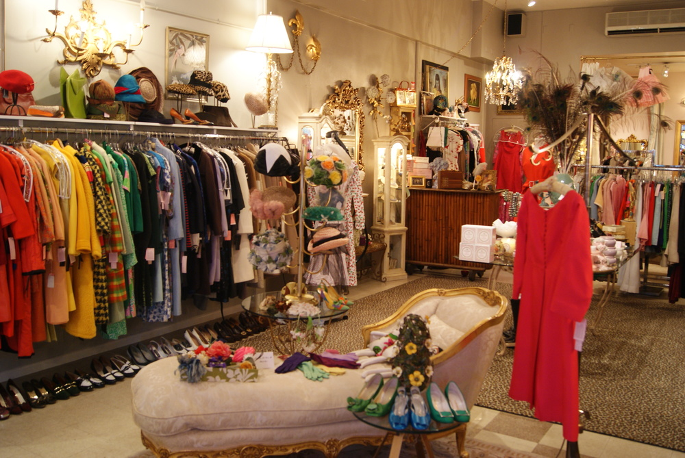 vintage clothing boutique
