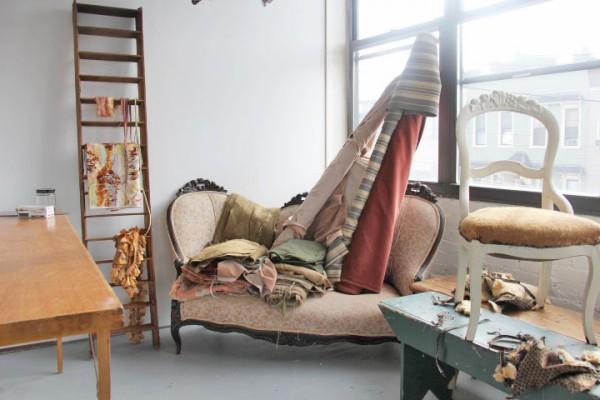 Patina vintage furniture studio in Brooklyn