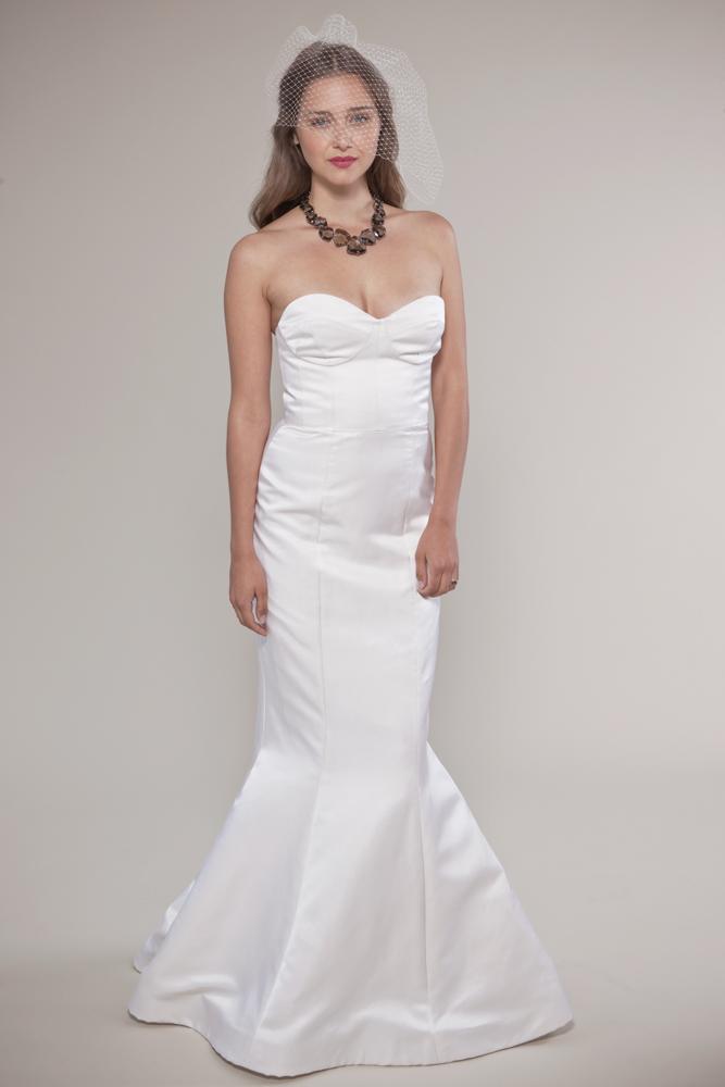 metallic wedding inspiration dress
