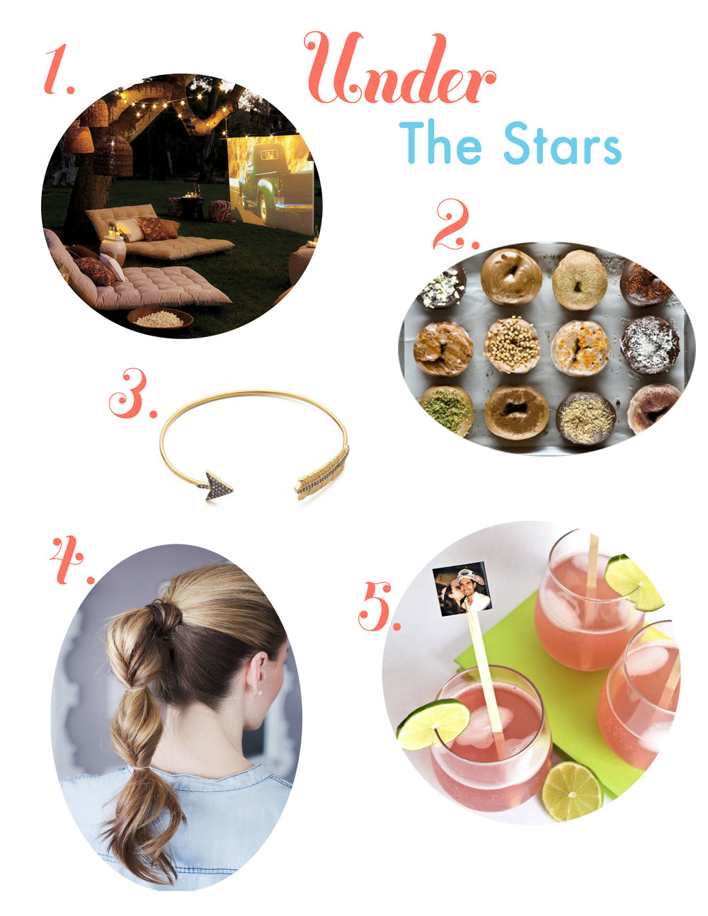 Philadelphia movies, federal donuts, arrow bracelet, DIY drink stir