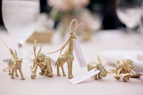 Safari wedding favors