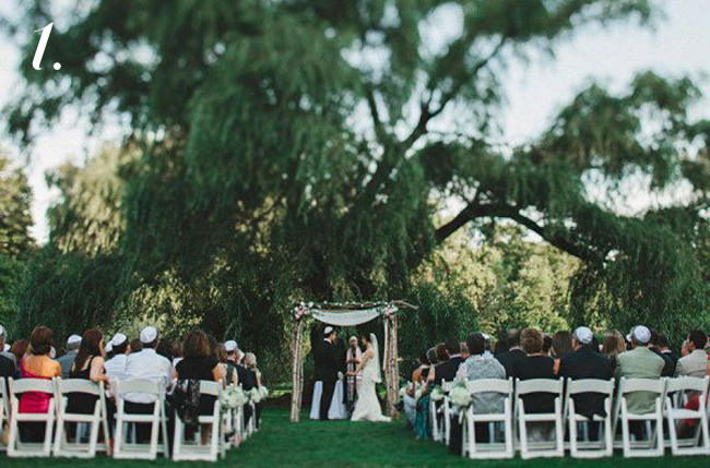 brooklyn botanic garden outdoor ceremony