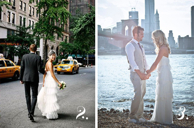 weddings at gramercy park hotel and brooklyn bridge park