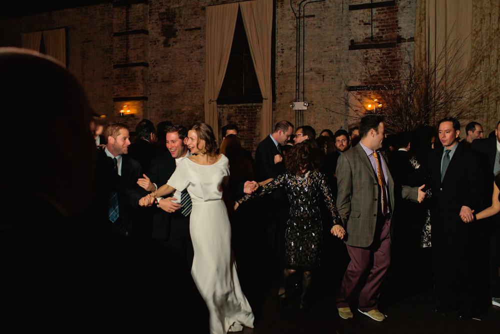 Dancing in the vintage-inspired Audrey dress from Winifred Bean