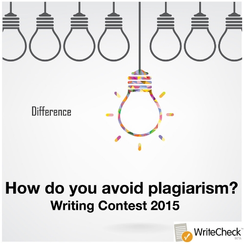 how do you avoid plagiarism contest