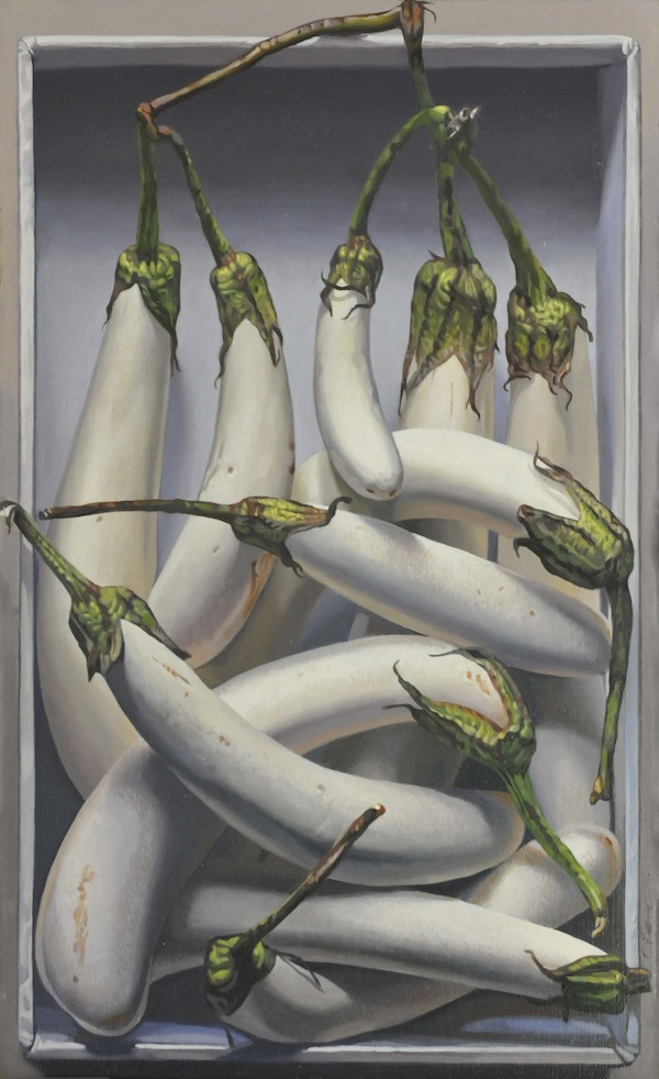 White Eggplants