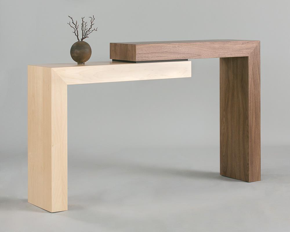 Stepped Walnut Table II