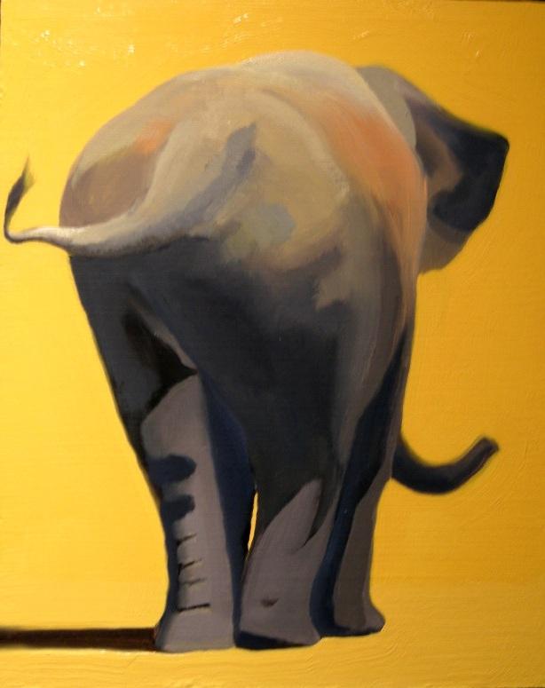 Elephant, Rear