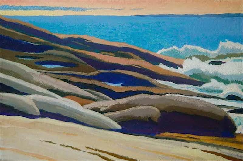 Rocks, Pemaquid Point