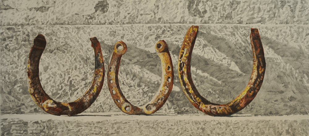 Three Old Horseshoes