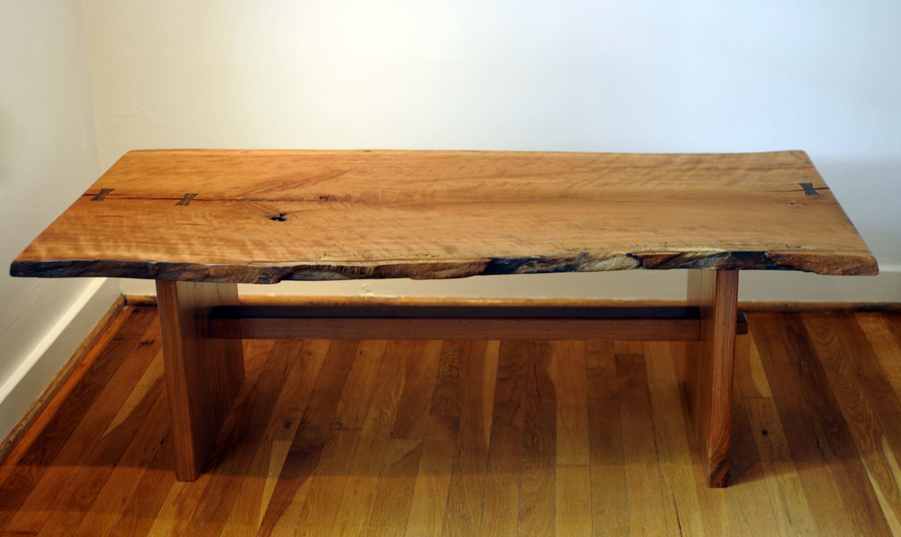 Knockdown Cherry Coffee Table