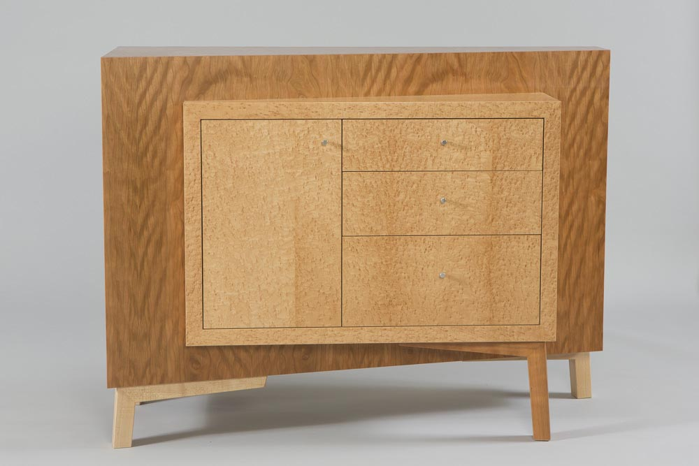 Cherry and Maple Table