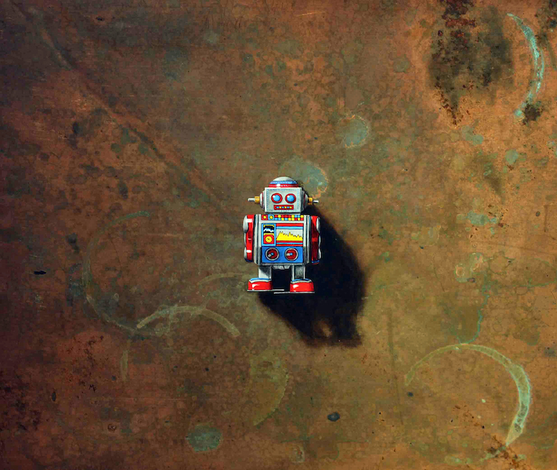 Mini Tin Robot