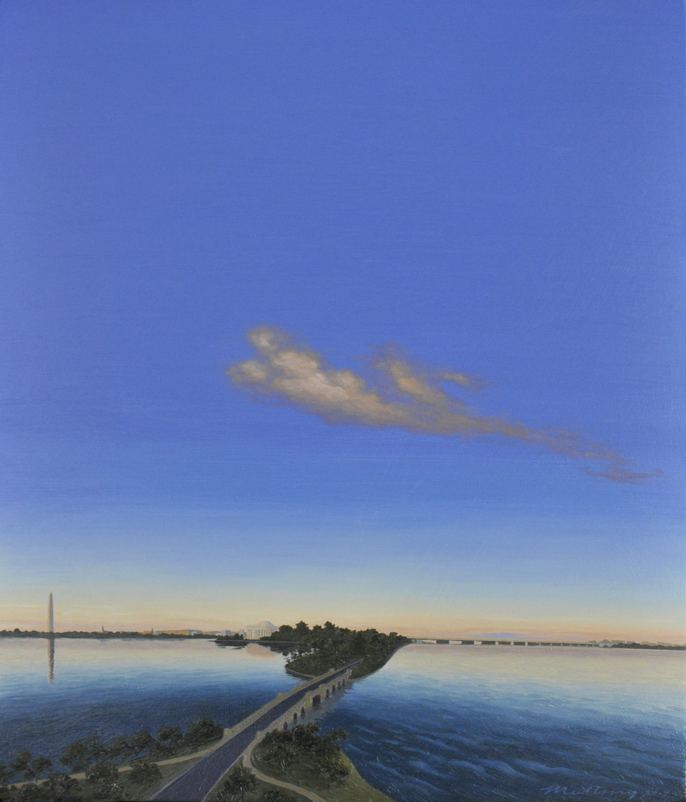 Twilight Along the Potomac