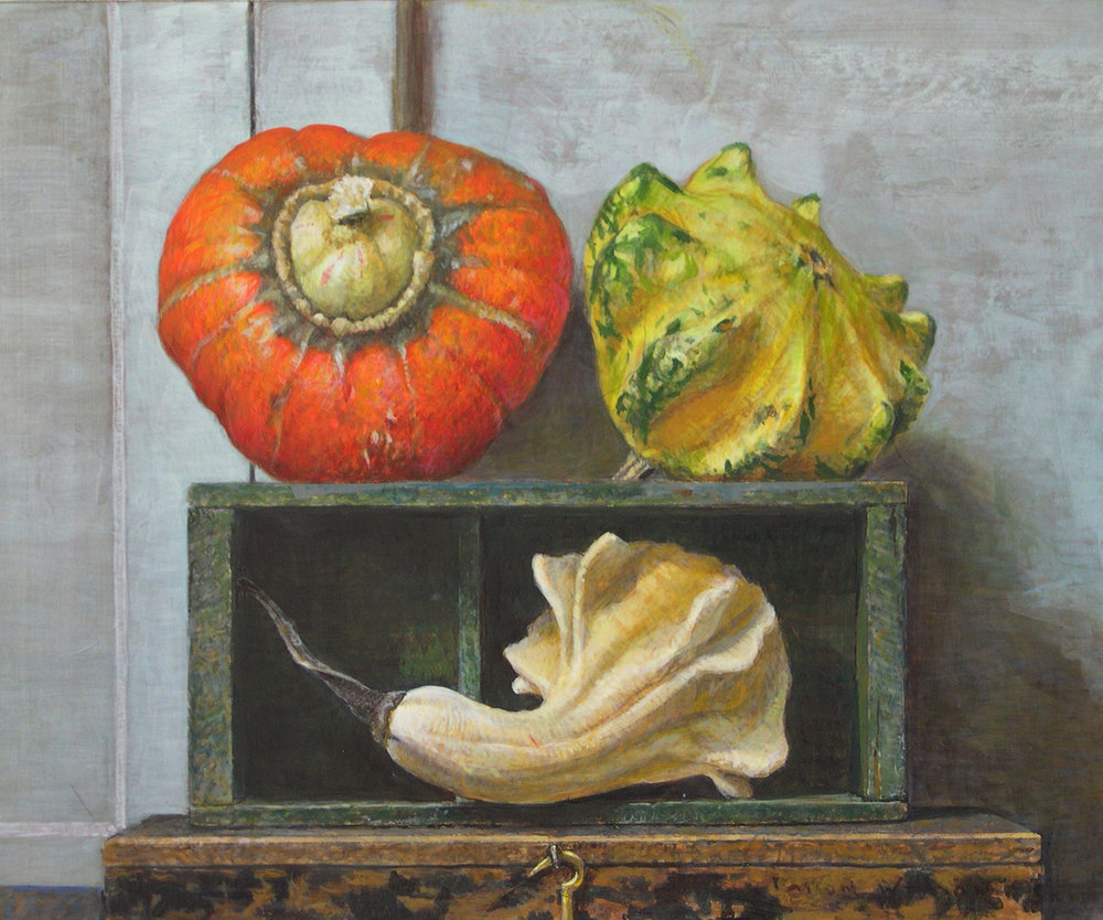 Turban and Gourds