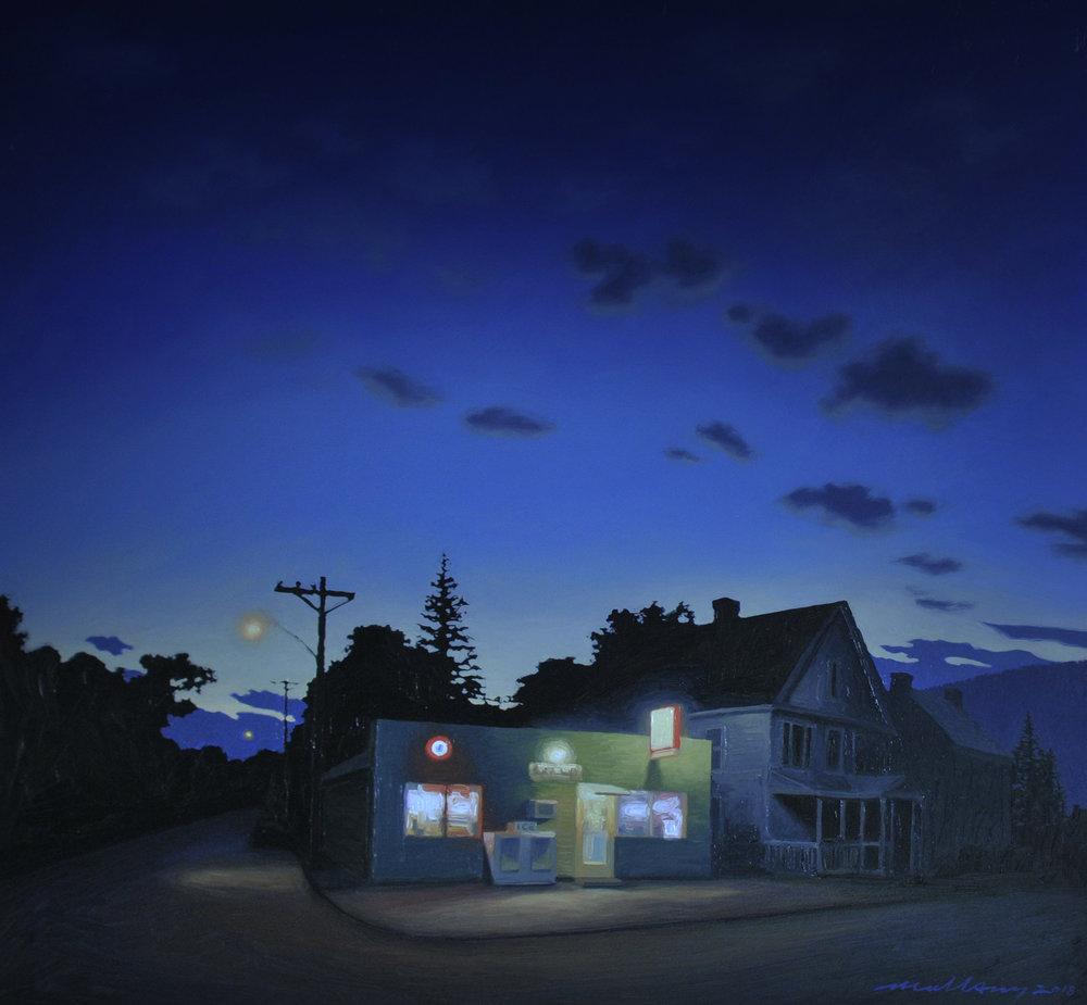 Twilight in the Berkshires