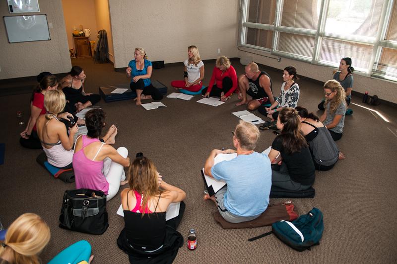 Cheryl's Yoga Sutra Class