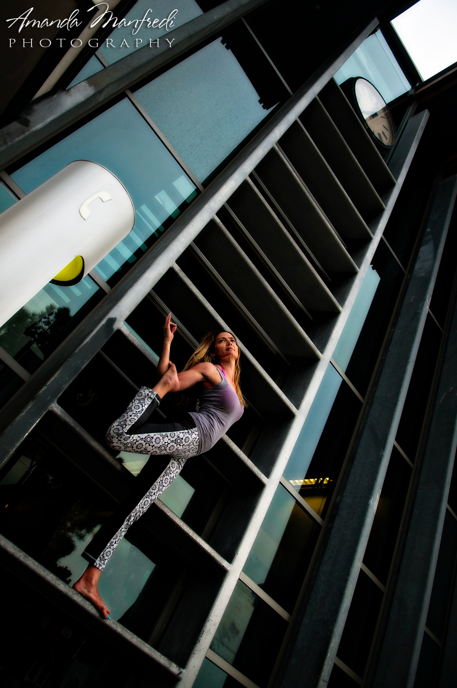 Urban Yoga Photography