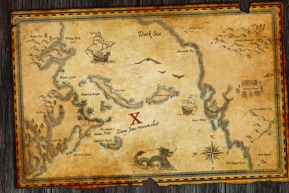 Treasure Map to Davey Jones' Locker,  Ep.715