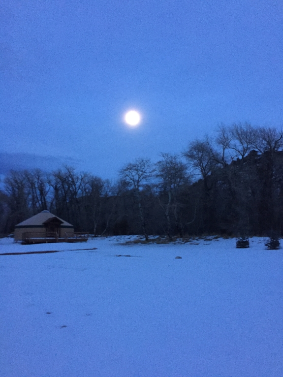 Moonrise at Brush Creek