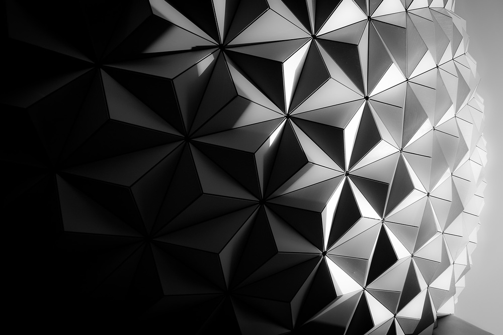 Spaceship Earth Detail, Orlando