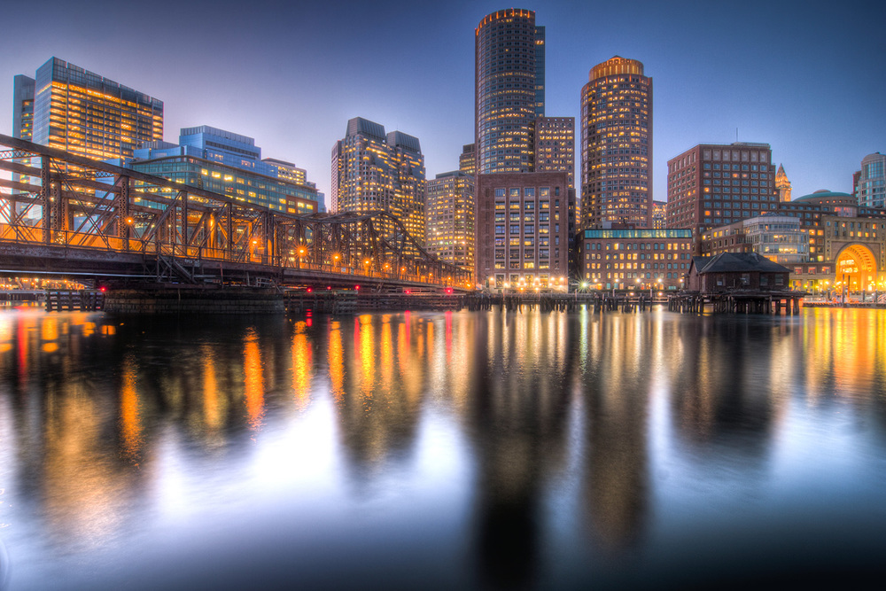 Boston Blue Hour