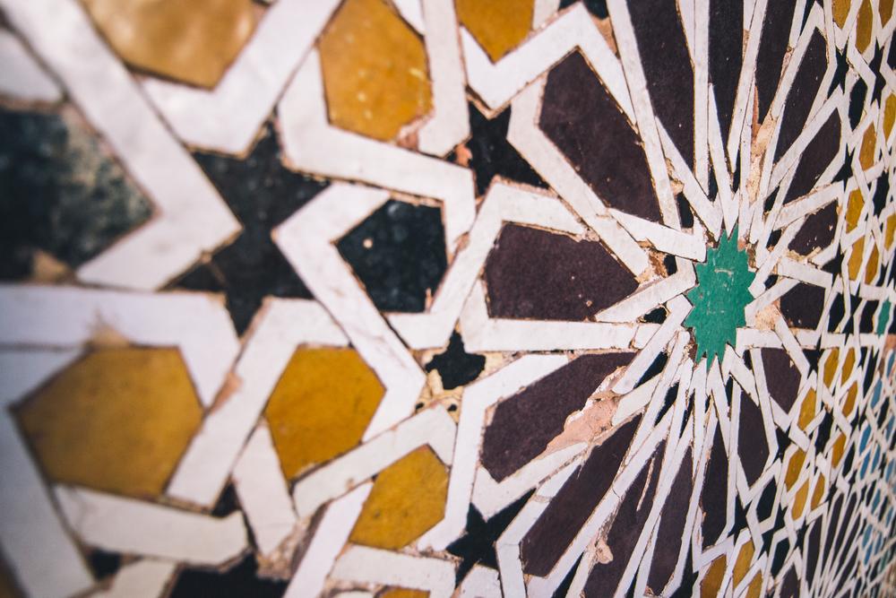 Medrassa Mosaic Detail
