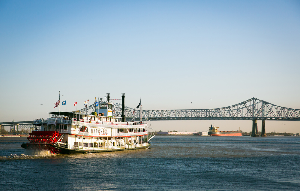 The Natchez on the Mississippi, New Orleans