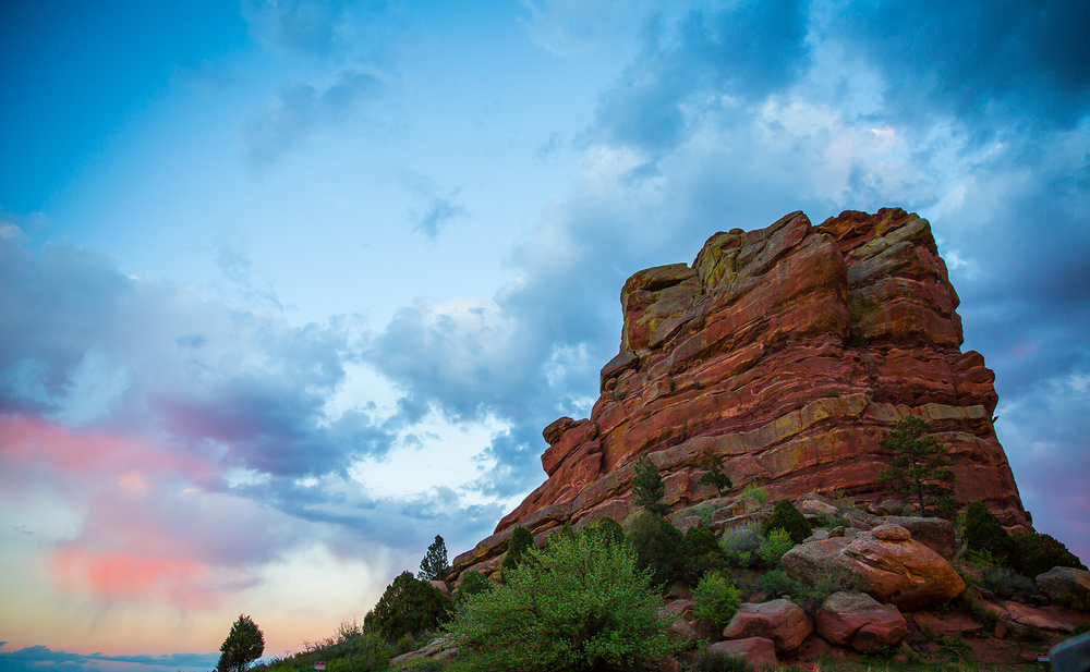 Red Rocks Sunset, Denver