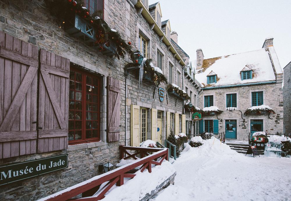 Place Royal in Vieux-Québec